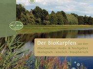 Oberlausitzer BioKarpfen - Biosphärenreservat Oberlausitzer Heide ...