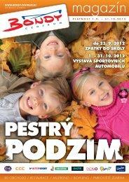 do 23. 9. 2012 ZPÁTKY DO ŠKOLY 1. – 31. 10 ... - Bondy Centrum
