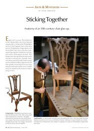 Sticking Together - Popular Woodworking Magazine