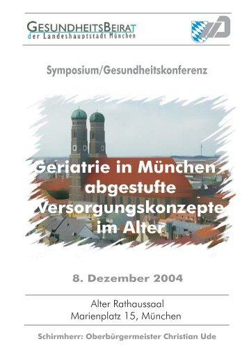 Geriatrie Symposium 2004 - AFGiB
