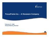 caliber point - Hexaware