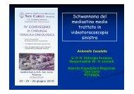 Schwannoma del mediastino.pdf - Ospedale San Carlo