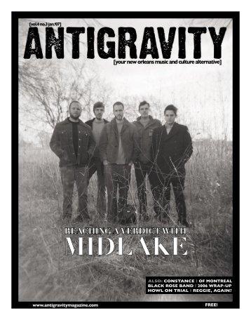 January 2007 (PDF) - Antigravity Magazine