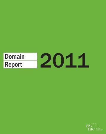 Domain Report - Cz.NIC