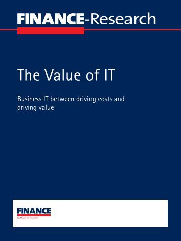 The Value of IT