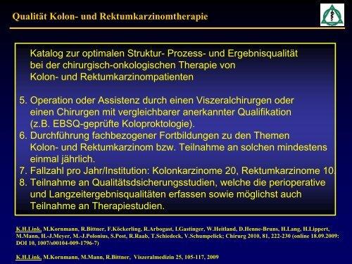 Asklepios Paulinen Klinik Wiesbaden Prof. K. H. Link - SQG