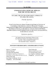 Petition for Rehearing and Rehearing En Banc - Children's ...