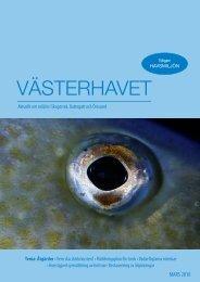 Västerhavet 2010 - Havsmiljöinstitutet