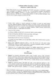 Nařízení města Chrudim č. 1/2013, kterýn se vydává tržní řád.
