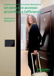 Sistema di controllo accessi alberghiero KNX ... - Schneider Electric
