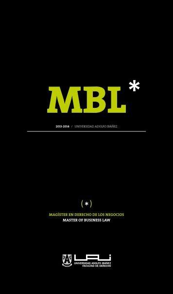 MBL - Universidad Adolfo Ibañez