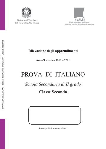 "Italiano classe seconda 2010-2011 - ""A. Volta"" di Ghilarza"