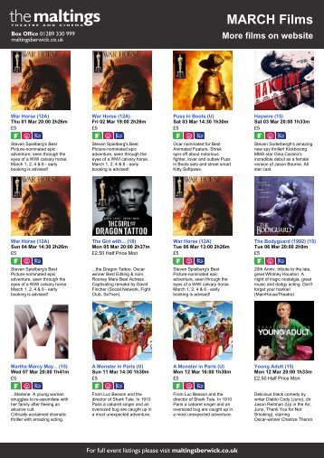 MARCH Films - The Maltings