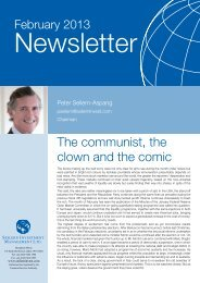The communist, the clown and the comic - Seilern Investment ...