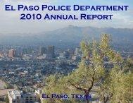 2010 Annual Report - City of El Paso