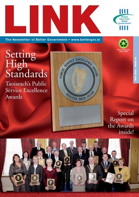 Link Magazine Issue 54 – May 2008 - Department of Public ...