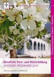 Berufliche Fort - Stiftung kreuznacher diakonie