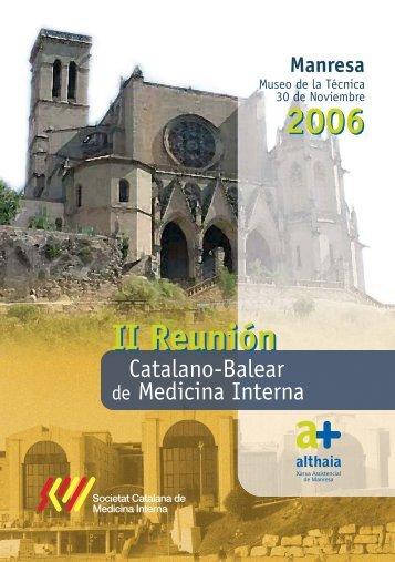 II Reunión - Sociedad Española de Medicina Interna