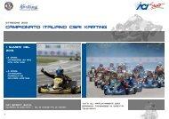 CAMPIONATO ITALIANO CSAI karting - ACI Sport Italia