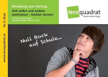 Null Bock auf Schule...