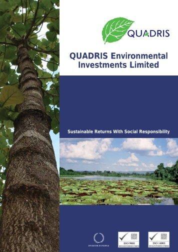 QUADRIS Environmental Investments Limited - hintonpi.com