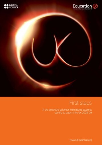 X058 First Steps - NEW_AW - English UK