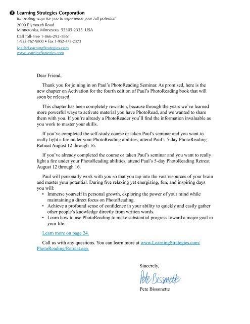 Edition pdf 4th photoreading
