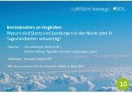 Betriebszeiten an Flughäfen: Warum sind Starts und Landungen in ...
