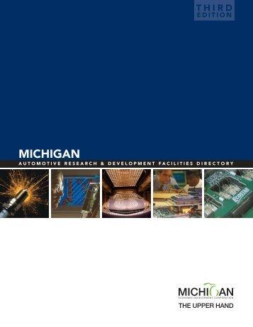 E - Michigan Economic Development Corporation