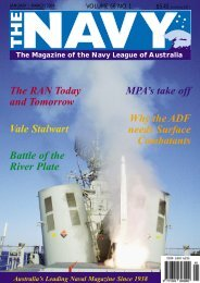 Vale STALWART - Navy League of Australia