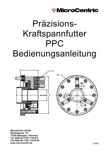 Präzisions-Kraftspannfutter - MicroCentric GmbH