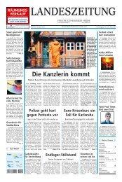 Die Kanzlerin kommt - Artlenburg