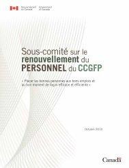 Version PDF (520 ko) - Secrétariat du conseil du trésor