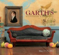 May 17-18, 2013 - Garth's Auctions, Inc.