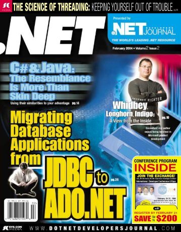 DNDJ 2-2.qxd - sys-con.com's archive of magazines - SYS-CON ...