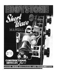 Eddystone Shortwave Manual 1947 - The Listeners Guide