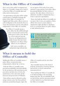 The Office of Constable - Metropolitan Police Federation - Page 7