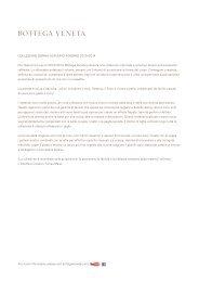 COLLEZIONE DONNA AUTUNNO-INVERNO 2013/2014 Per l ...