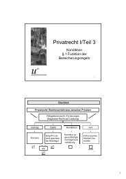 Fachprüfung Privatrecht