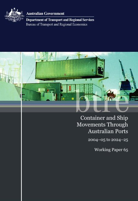 PDF: 1336 KB - Bureau of Infrastructure, Transport and Regional ...
