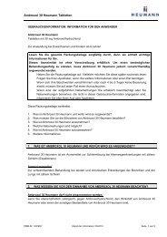 Ambroxol 30 Heumann, Tabletten - Heumann Pharma GmbH