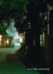 2007 CATALOGUE.pdf - Dewi Lewis Publishing