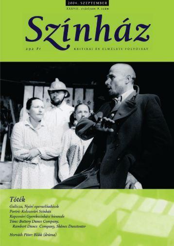 2004. szeptember - Színház.net