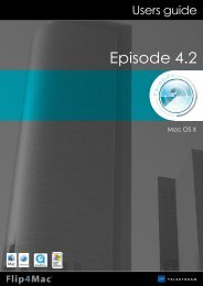 Episode - Flip4Mac