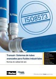 Transair: Sistemas de tubos avanzados para fluidos industriales