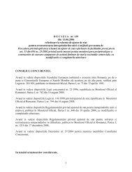 D E C I Z I A   nr. 139 din 13.06.2006 referitoare la schema de ajutor ...