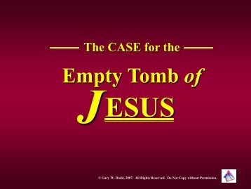 Empty Tomb of