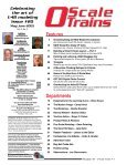 US $5.95 • Can $7.95 - O Scale Trains Magazine Online - Page 3