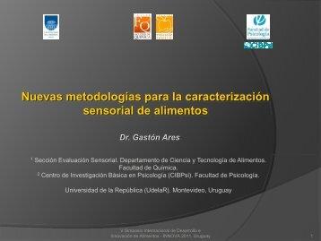 Nuevas metodologías para la caracterización sensorial de alimentos