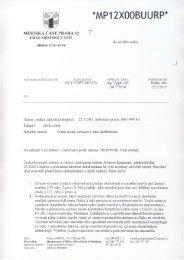 stanovisko odboru výstavby Praha 12
